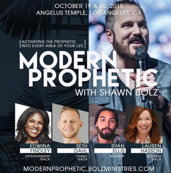 Modern Prophetic: Oct 19-20